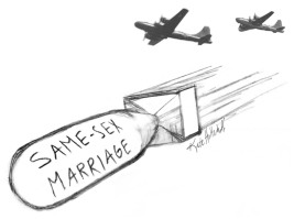 same sex marriage bomb